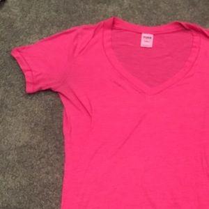 Victoria's Secret Pink V-Neck Shirt